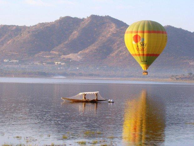 """""""Hot Air Ballooning at Ranthambore National Park"""""""