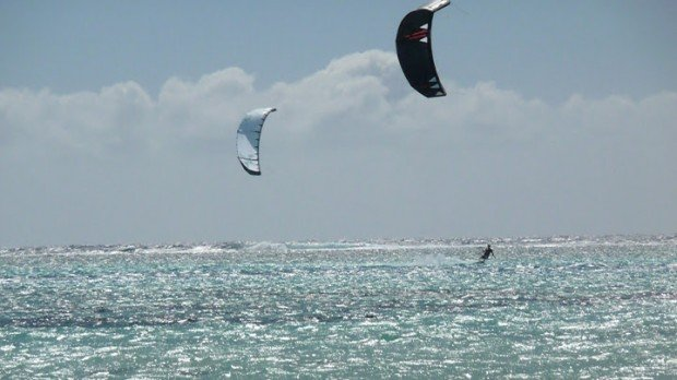 """""""Kite boarding at Beach Club"""""""