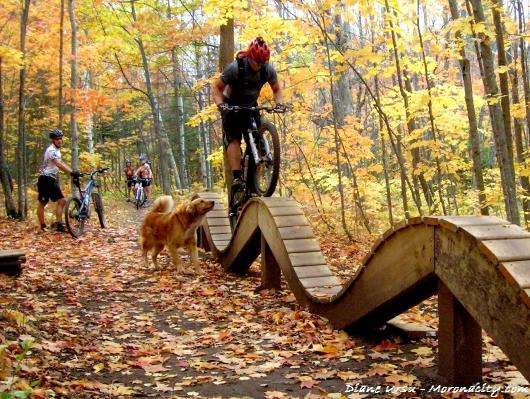 """""""Mountain Biking at Time Trial Loop"""""""