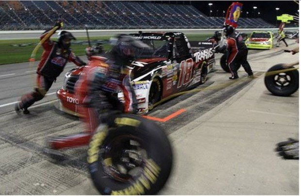 """""""Pit stop in Chicagoland Speedway"""""""