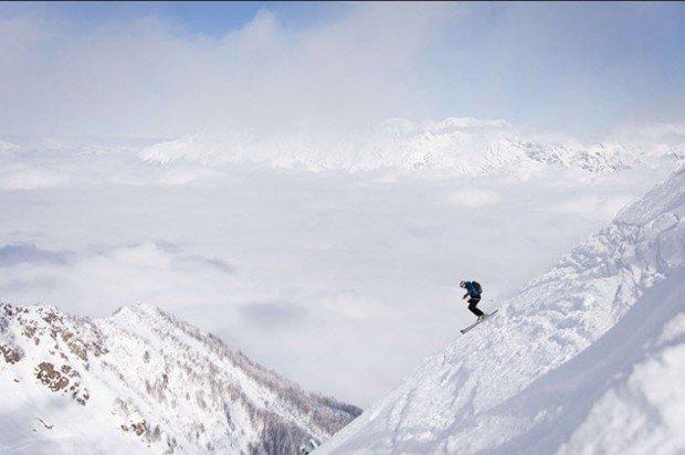 """Rosa Khutor Ski Resort Extreme Skiing"""