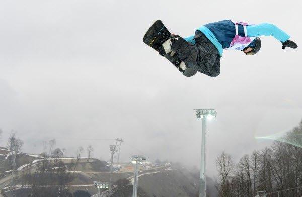 """Rosa Khutor Ski Resort Snowboarding"""