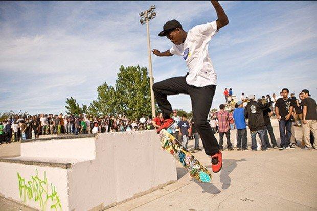 """""""Skate Boarder in Wilson Skate Park"""""""