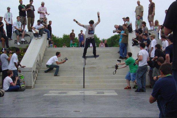 """""""Skate Boarding in Kettering Skate Plaza"""""""