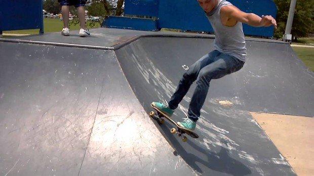 """""""Skateboarding at Tupelo Skatepark"""""""