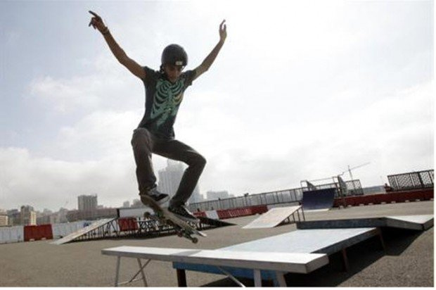 """South Lebanon Skate Boarding"""