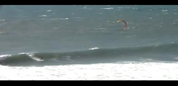 ''kitesurfing at Matanzas''
