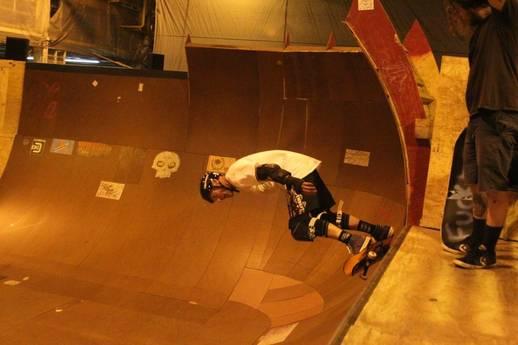 Skate Boarding Rampage Extreme Park Jackson Mississippi Usa