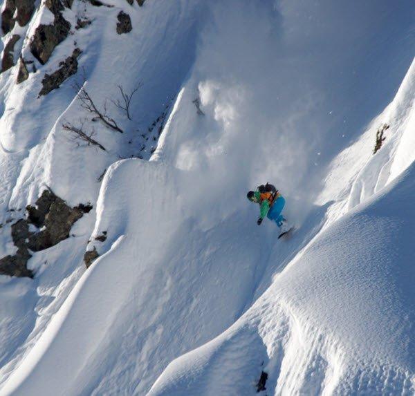 """Alpika Service Mountain Ski Resort Snowboarding"""