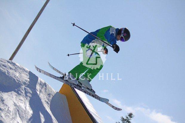 """Alpine Skiing at Buck Hill"""