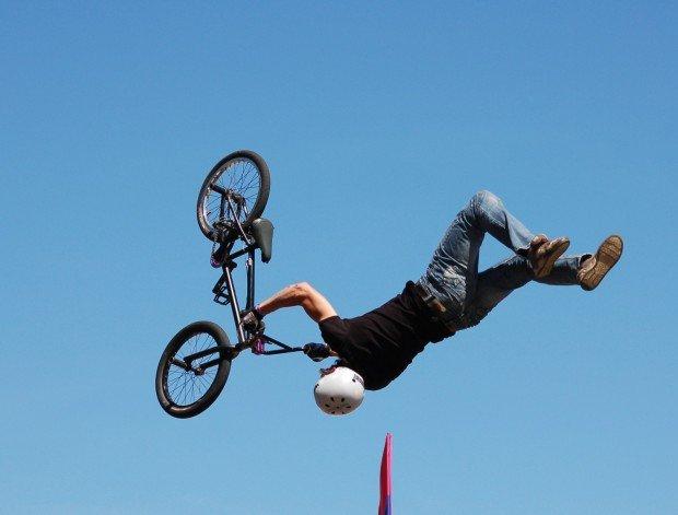 """BMX at Tupelo Skatepark"""