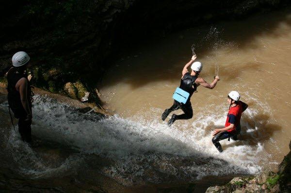 """""""Canyoning in Rufabgo Waterfalls"""""""