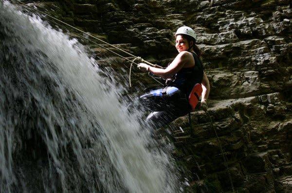 """Rufabgo Waterfalls Abseiling"""