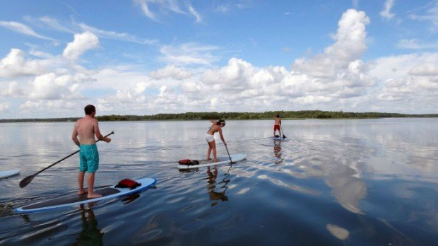"""""""SUP in the Guadalquivir River"""""""