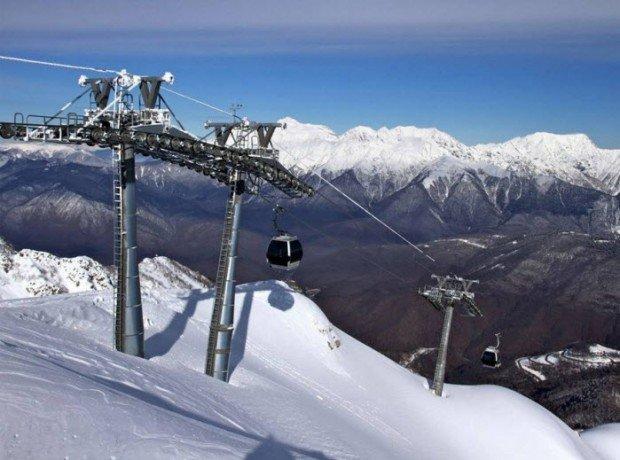 """""""Ski Lifts in Gornaya Karusel"""""""