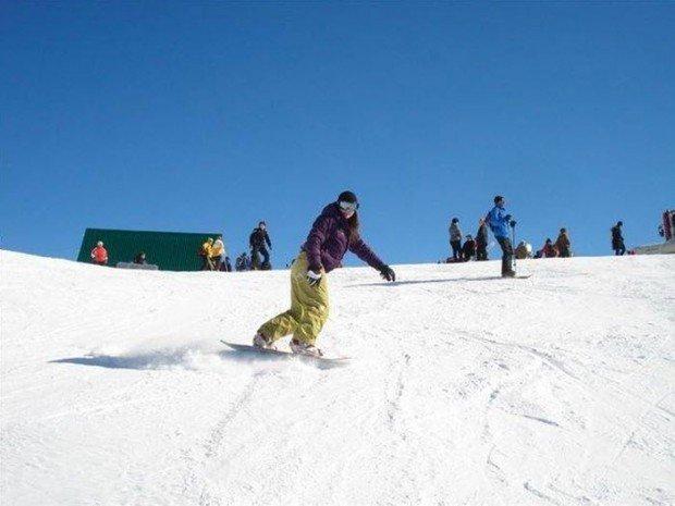 """Snowboarding in Azish Tau"""