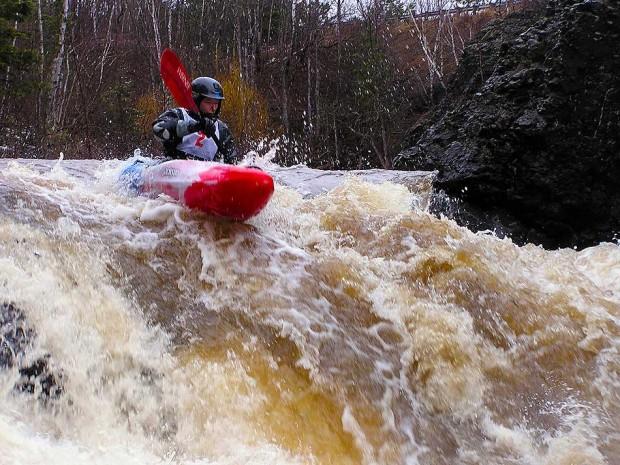 """Whitewater Kayaking at Lester River"""