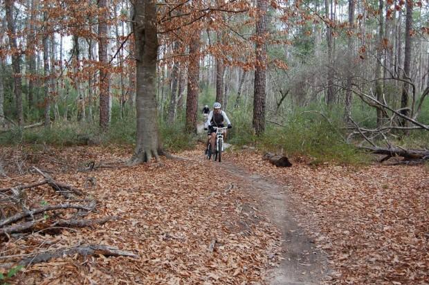 """Mountain Biking at Bethel Bike Trails"""