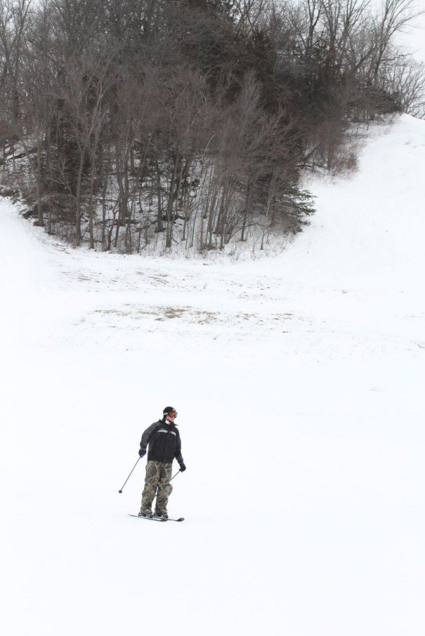 """Alpine Skiing at Seven Oaks Recreational"""