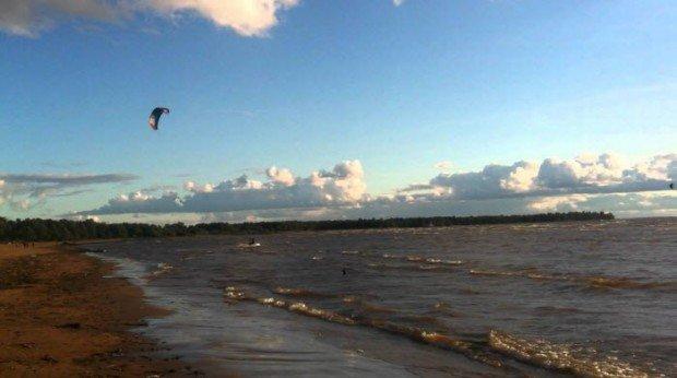 """""""Kitesurfing in Sestroretsk"""""""