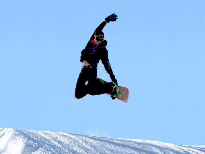 Snowboarding seven oaks recreation boone iowa usa for Boone ski cabin rentals