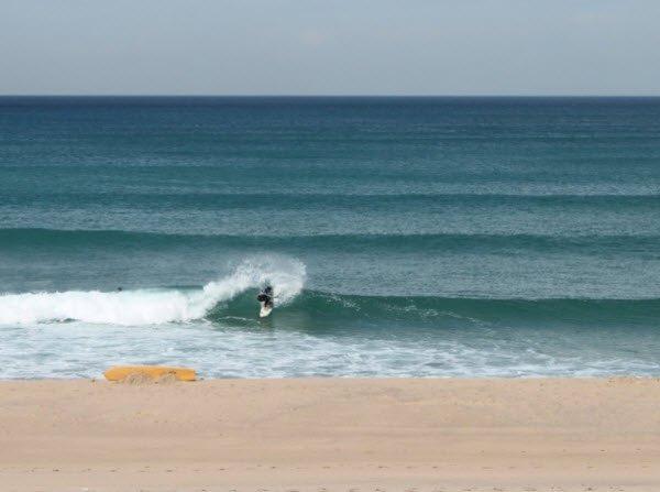 """Surfer in Praia Azul"""