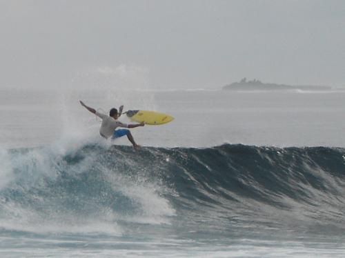 ''Surfing at Lohi's''