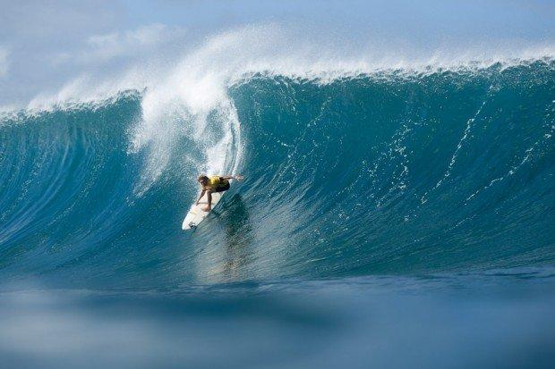 ''Surfing at Sans Souci''