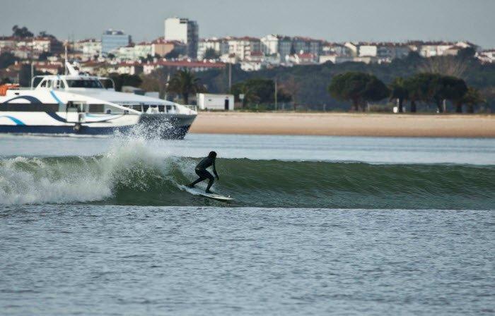 Surfing Bafureira Cascais Lisbon And Coast Portugal