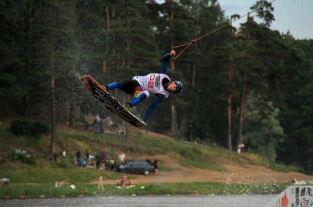 """""""Wakeboarder in Srednee Suzdalskoye Lake"""""""