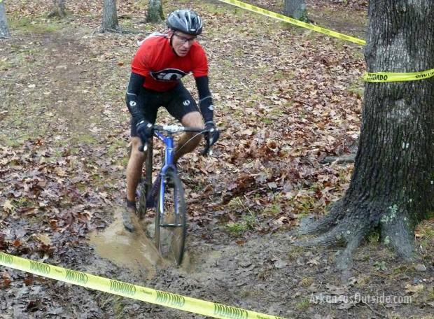 """""""Mountain Biking at Alsopp Park, Little Rock"""""""