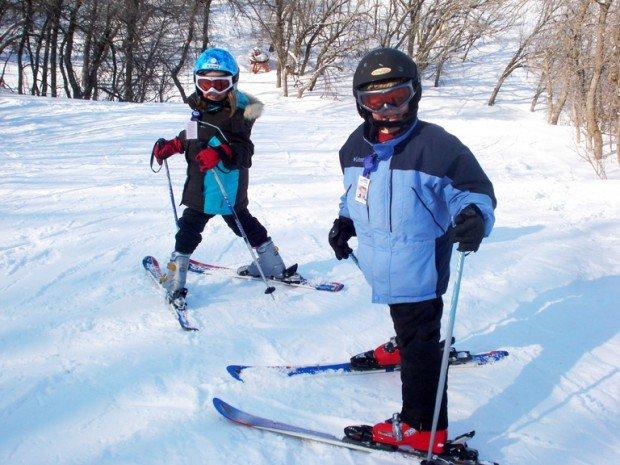 """Alpine Skiing at Huff Hills Ski Area"""