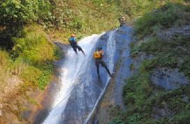 Charaundi Canyon, Dhading