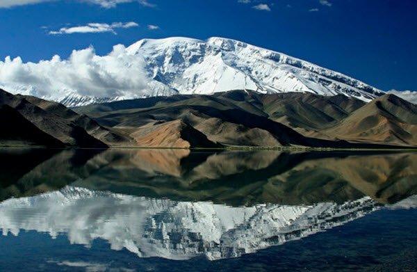 """Magnificent view of Muztagh Ata"""