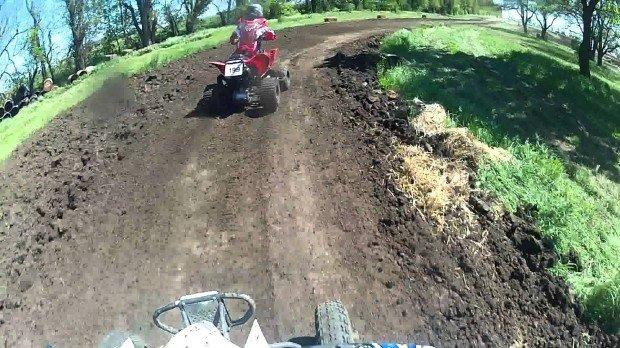 """Quad Biking at Inaman Motocross"""