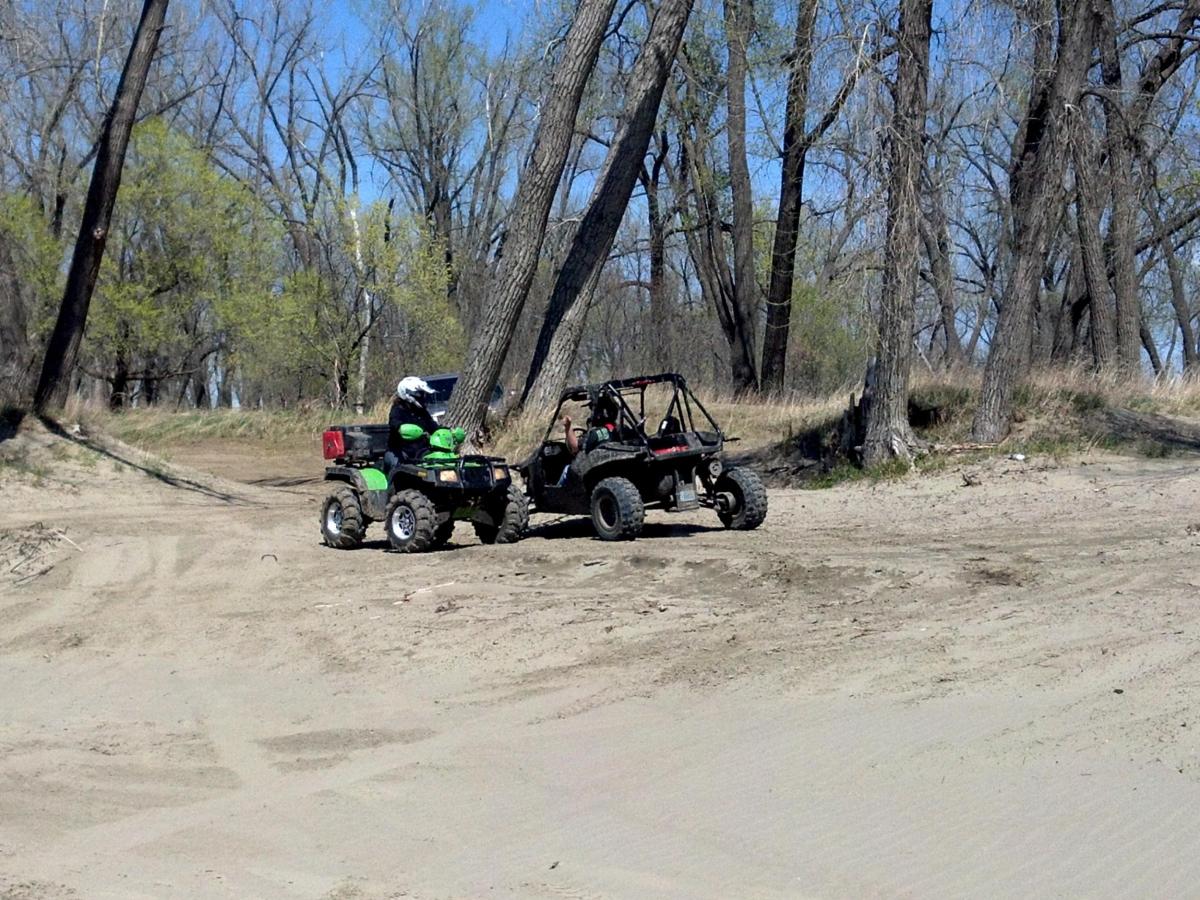 Quad biking kimball bottom ohv area bismarck north dakota usa for U motors fargo north dakota