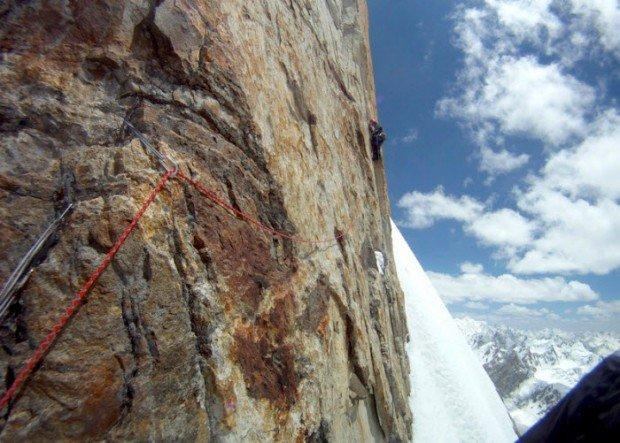 """""""Rock Climbing in Latok III"""""""