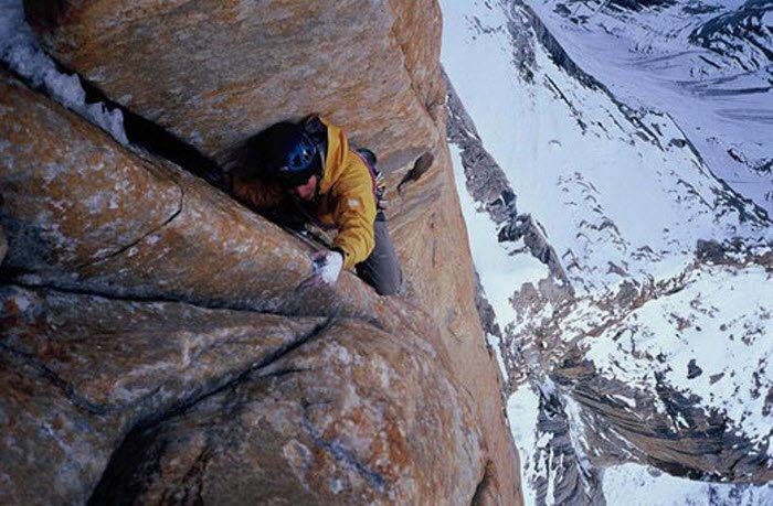 Rock Climbing Nameless Tower Trango Karakoram Park Pakistan
