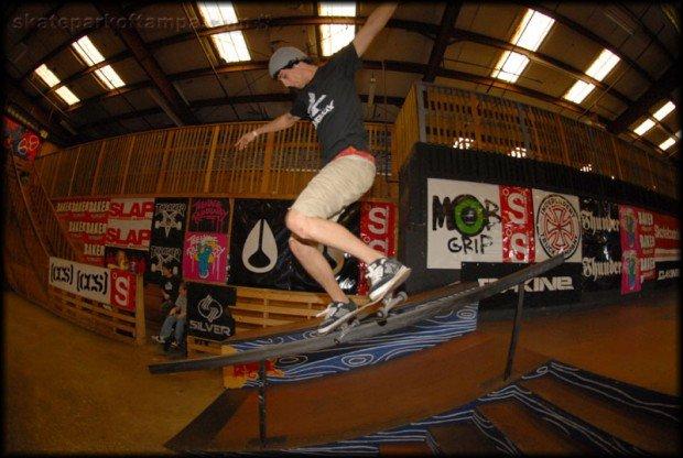 """""""Skateboarding at Tampa Skatepark"""""""