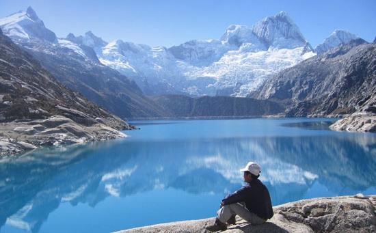 ''Trekking in Cordillera Blanca''
