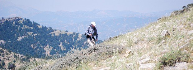 ''Trekking in Pindos Range''