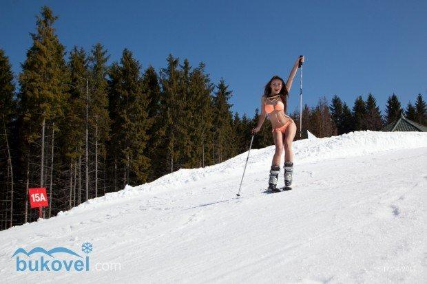 """Alpine Skiing at Bukovel Ski Resort"""