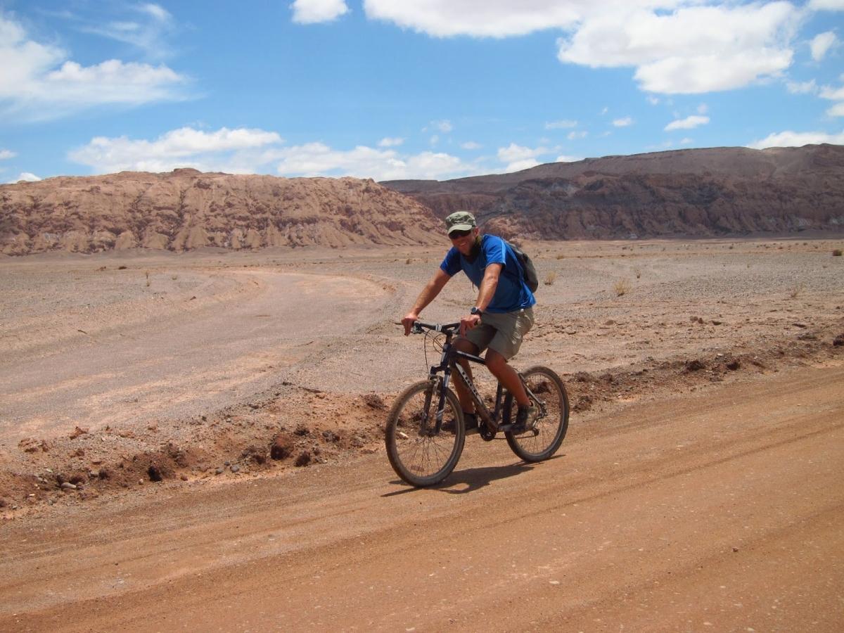 """""""Mountain biking in San Pedro de Atacama"""""""