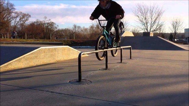 """Bmx at Roberts Skatepark"""