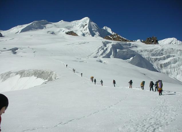 ''Mera Peak Climbing''