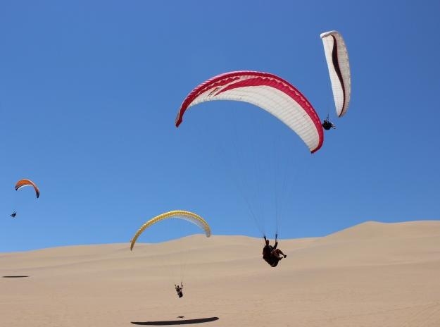 ''Paragliding in Swakopmund''