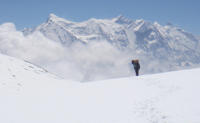 ''Peak Climbing in Saribung''