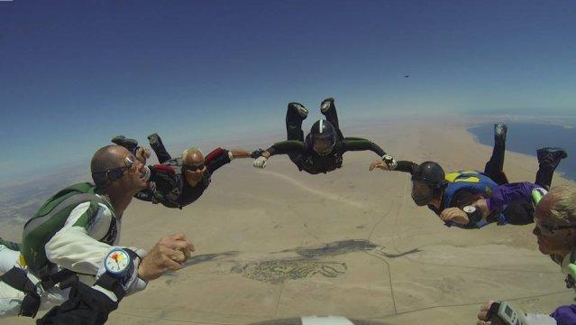 ''Skydiving in Swakopmund''