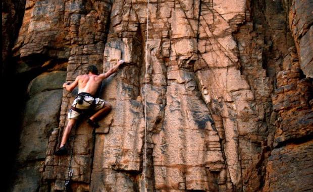 ''Spitzkoppe Rock Climbing''