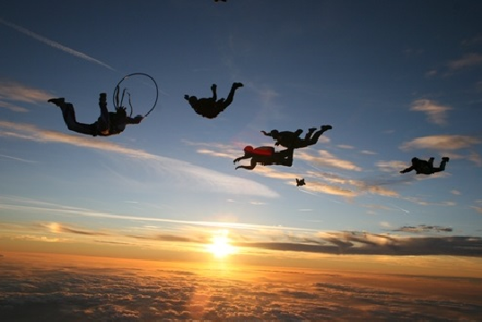 """""""Skydiving in Florida - Real Thrill and Laughter"""""""